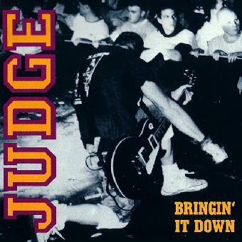 "Judge ""Bringin` it down"" LP (black, 180gramm)"