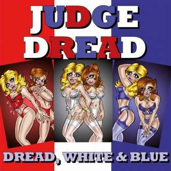 "Judge Dread ""Dread, white & blue"" LP"