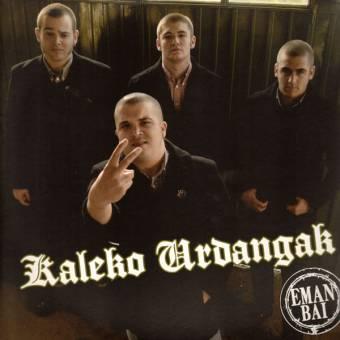 """Kaleko Urdangak """"Eman Bai!"""" LP (lim. 300 black)"""