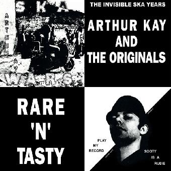 "Arthur Kay and The Originals ""Rare `n` tasty"" LP (lim. 400, black)"