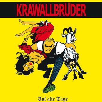"""KrawallBrüder """"Auf Alte Tage + Demos"""" LP (lim. 222, red)"""
