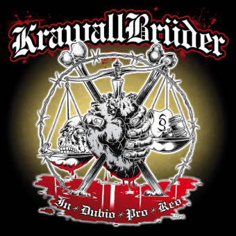"KrawallBrüder ""In Dubio Pro Reo"" LP (lim. 333, green)"