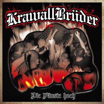 """KrawallBrüder """"Die Fäuste hoch"""" LP (lim. 333, white)"""