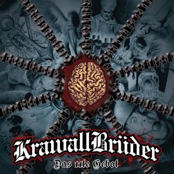 """KrawallBrüder """"Das 11te Gebot"""" LP (lim. 222, yellow)"""