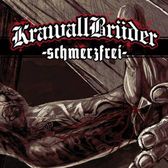 "KrawallBrüder ""schmerzfrei"" LP (180 gramm, Gatefold, lim. black)"