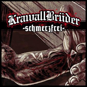 """KrawallBrüder """"Schmerzfrei"""" LP (lim. 222, green)"""