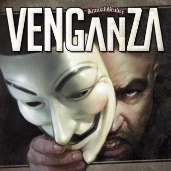 "KrawallBrüder ""Venganza"" LP (lim. 222, blue)"