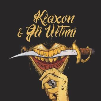 """split Klaxon / Gli Ultimi """"Anime Corsare"""" LP"""
