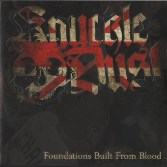 """Knuckledust """"Foundations built from blood"""" EP 7"""" (lim. 200, black)"""