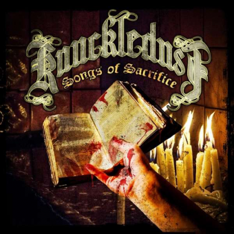 "Knuckledust ""Songs of Sacrifice"" LP (lim. 300, black)"