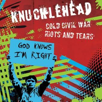 "Knucklehead ""Cold civil war"" EP 7"" (multi splatter, lim. 250)"