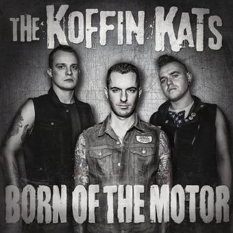 "Koffin Kats ""Born of the motor"" LP (lim. 30, blue marble)"