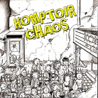 "Komptoir Chaos ""same"" LP (lim. yellow)"