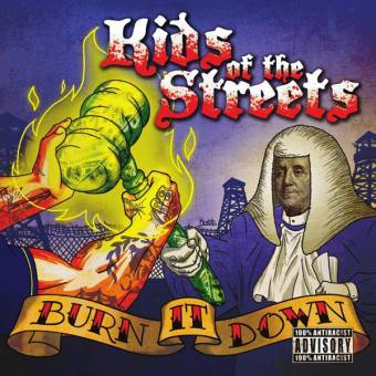 "Kids of the Streets ""Burn it down"" LP (lim. yellow)"