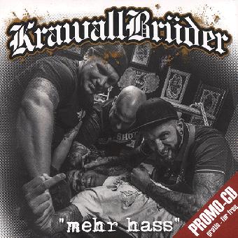 """KrawallBrüder """"mehr hass"""" 3 Track Promo CD (free / gratis)"""