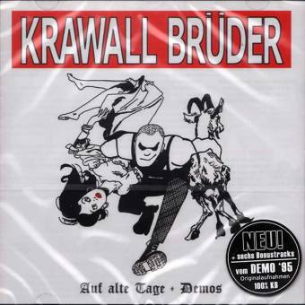 """KrawallBrüder """"Auf Alte Tage"""" CD (+ 6 Bonustracks)"""