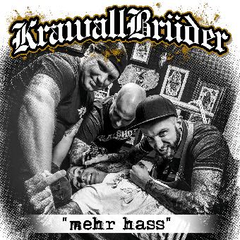 """KrawallBrüder """"mehr hass"""" CD (DigiPac)"""