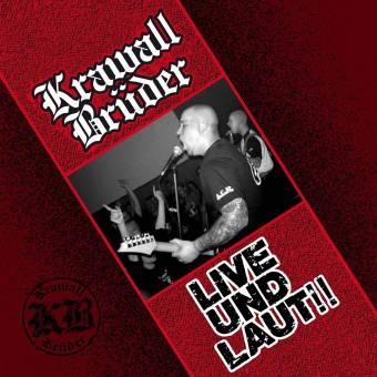 """KrawallBrüder """"Live und laut"""" LP (schwarzes Vinyl, Poster)"""