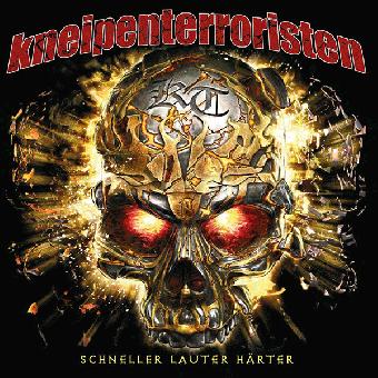 """Kneipenterroristen """"Schneller Härter Lauter"""" CD"""