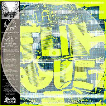 """La Flingue """"Piss-Tape Zero-Quatre"""" 12"""" LP (lim. 260, clear)"""