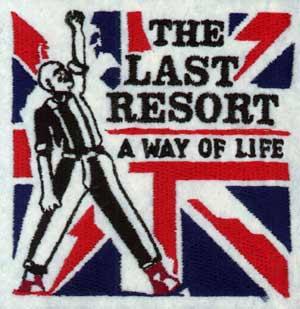 Last Resort,The (groß) - Aufnäher (gestickt)