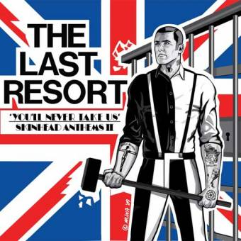 "Last Resort ""You`ll never take us"" CD"