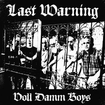 "Last Warning ""Voll Damm Boys"" LP+Poster+Fanzine (lim. 265, black)"