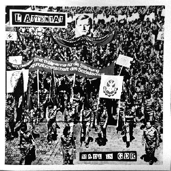 """L`Attentat """"Made in GDR"""" LP+7"""" (black + MP3)"""