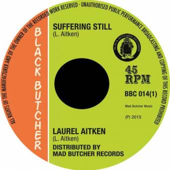 "Laurel Aitken ""Suffering still"" EP 7"""