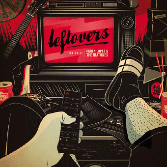"Ruben Lopez & The Diatones ""Leftovers"" EP 7"" (lim. 500, black)"