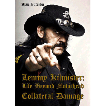 Lemmy Kilmister: Collateral Damage - book (engl.)