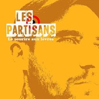 """Les Partisans """"Le Sourire Aux Lèvres"""" EP 7"""" (black)"""