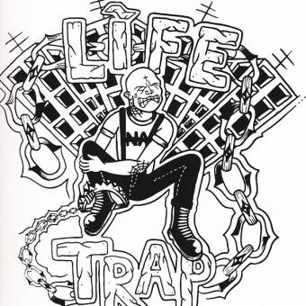 "Life Trap ""same"" LP (lim. 100, regular silkscreen version)"