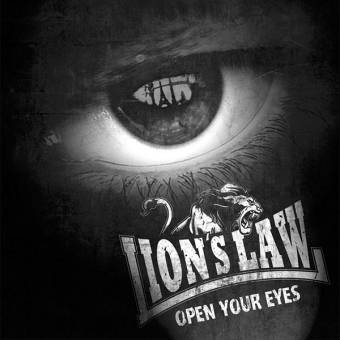 "Lion`s Law ""Open your eyes"" LP (lim. 500 red/white/blue) + MP3"