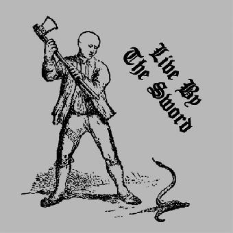 "Live By The Sword ""same"" 12"" MLP (lim. 500, black) (180gramm + Poster)"
