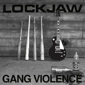 """Lockjaw """"Gang Violence"""" LP (lim. 300, black) + 28 page booklet"""