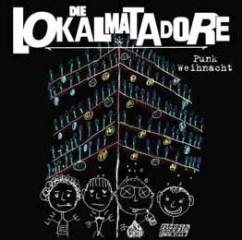 """Lokalmatadore """"Punk Weihnacht"""" + """"Live in Hamburg 2009"""" CD"""
