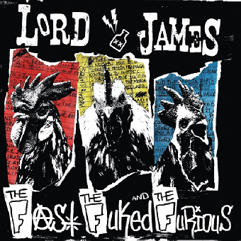 "Lord James ""The Fast, The Fuked & The Furious"" CD (DigiPac)"