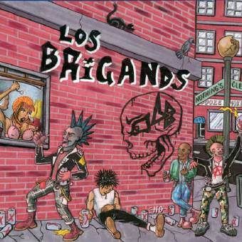 "Los Brigands ""Nothing`s Clean"" LP (lim. 100, green)"