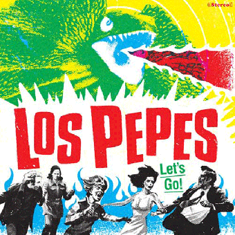 "Los Pepes ""Let`s Go"" LP+Poster (lim. 300, black) + MP3"