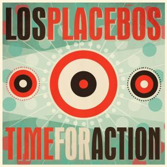 "Los Placebos ""Time for action"" LP (lim. 300, black)"