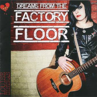 "Louise Distras ""Dreams from the factory floor"" CD (feat. Jenny Woo)"