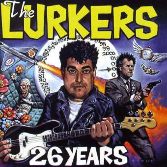 "Lurkers, The ""26 Years"" LP (lim. 400, blue) (signed by Arturo)"