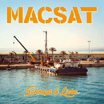 """MACSAT """"Schnaps & Liebe"""" LP+CD (lim. white, 180 gramm)"""