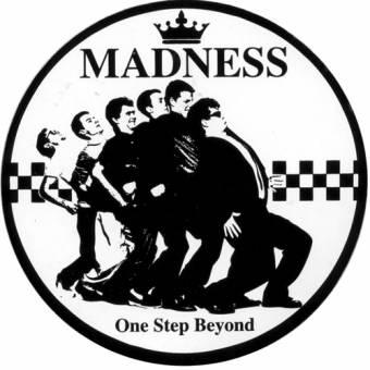 Madness - Aufkleber/ sticker 051