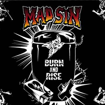 Mad Sin - Burn And Rise CD+DVD+Fahne (lim. DigiPac in Cardboard box)
