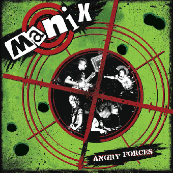 """Manix """"Angry Forces"""" LP (lim. 300, black)"""