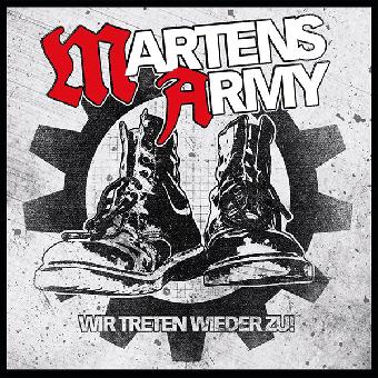"""Martens Army """"Wir treten wieder zu"""" LP (lim. 400, red)"""