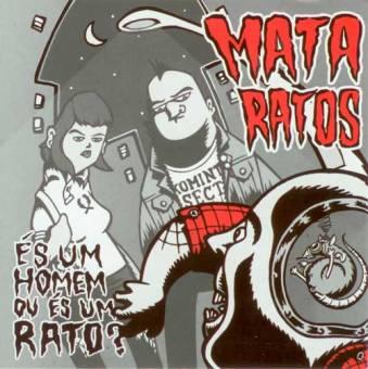 """Mata Ratos """"Es um homen ou es um Rato?"""" LP (black)"""