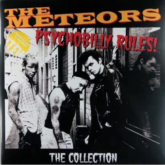 "Meteors, The ""Psychobilly Rules"" Deluxe DoLP (lim. 500, yellow)"